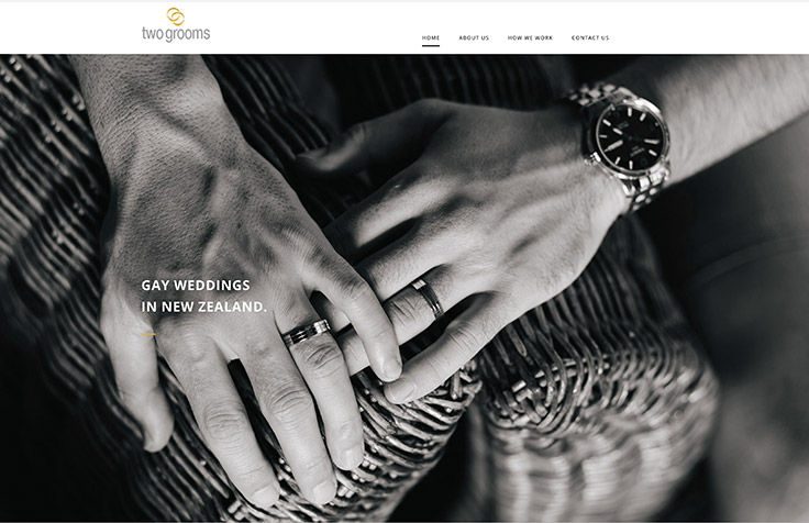 Event Planning Auckland custom web design and photography